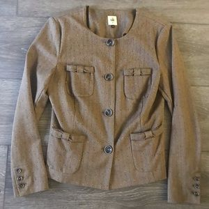 Cabi penny blazer jacket kyoto brown size medium
